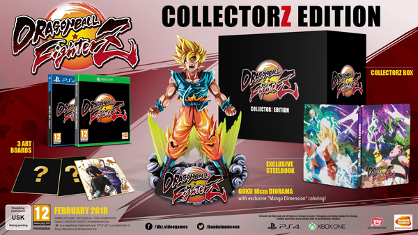 Dragonball FighterZ Collectorz Edition